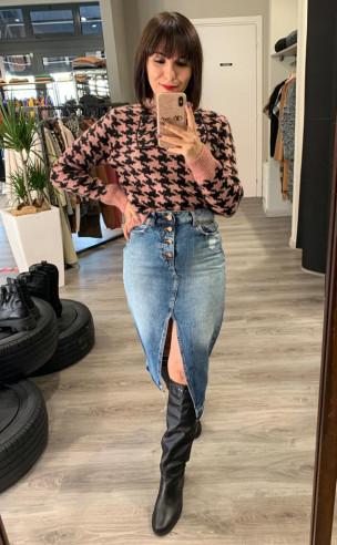 Vicolo - Gonna longuette jeans