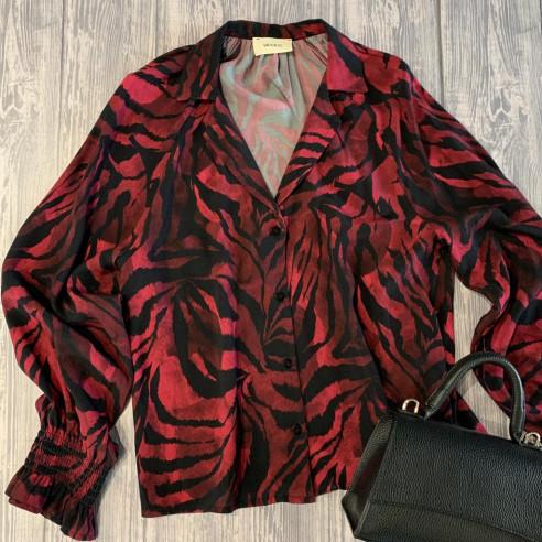 Vicolo - Camicia tigrata