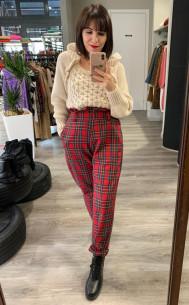 Kontatto - Pantalone tartan