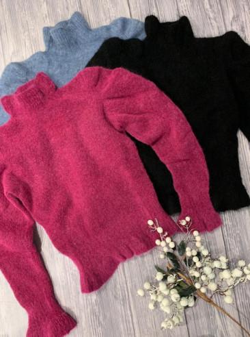 Vicolo - Pull lupetto soft
